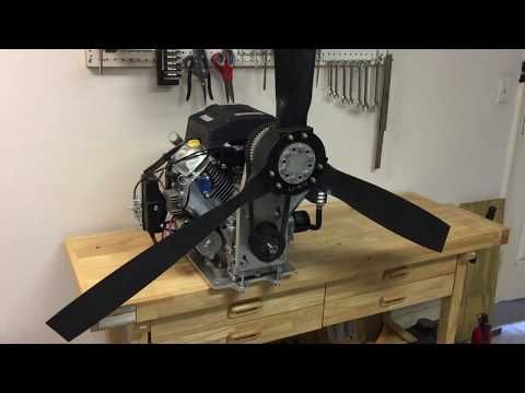Harbor Freight Predator 22 hp Engine and Reduction Drive for