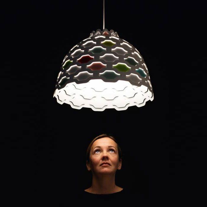 Louis Poulsen - LC Shutters Suspension Light Colour | Panik Design