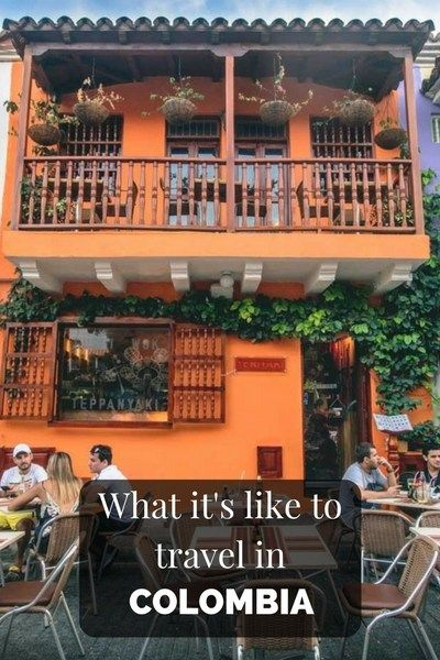 What's like to travel in Colombia