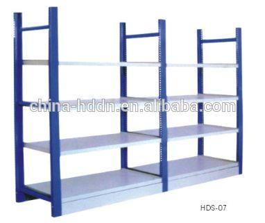 Leggeri magazzino merci rack di stoccaggio/scaffalature industriali