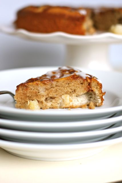 Grain-Free Apple Spice Coffee Cake. #GlutenFree, #GrainFree, #Paleo, #SCD