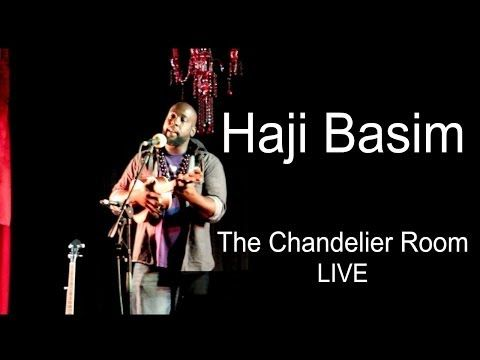 All Haji Basim needs is a ukulele and an audience.....for magic to happen. http://www.chandelierroom.com.au