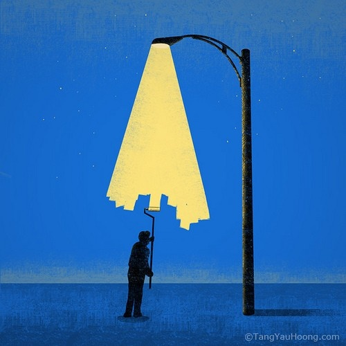 painting lightTrav'Lin Lights, Yau Hoong, Negative Space, Lights Painters, Tang Yau, Illustration, Art, Graphics Design, Street Lights