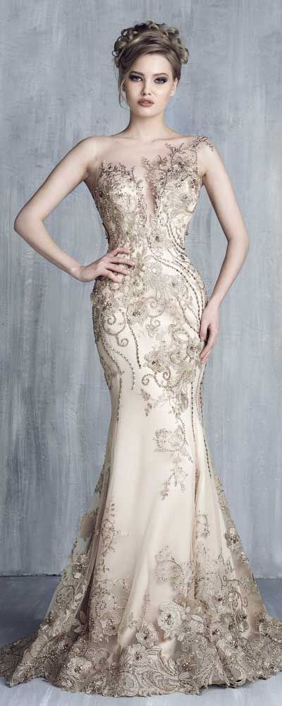 Tony Chaaya Haute Couture 2016 Collection – Evening Dress