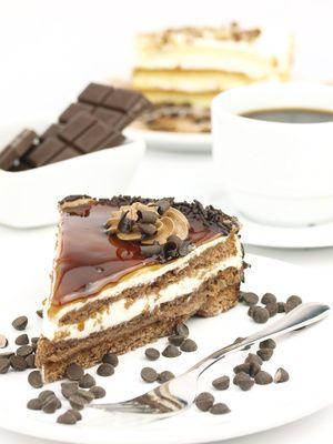 Prajitura cu ciocolata si cafea Bizo