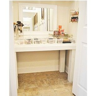 bathroom cabinet with makeup vanity makeup organization part 3 organization 11195