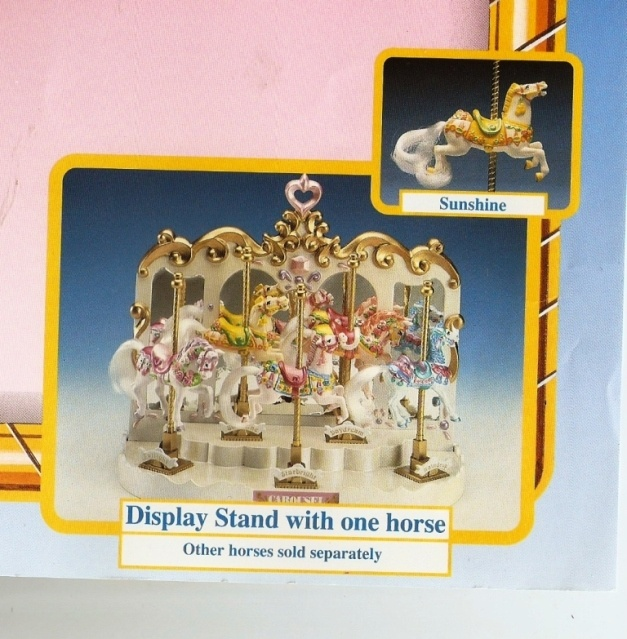 Carousel Horses (and stand) made by Matchbox