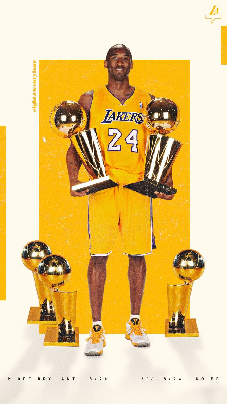 Lakers Wallpapers and Infographics in 2020 Kobe bryant