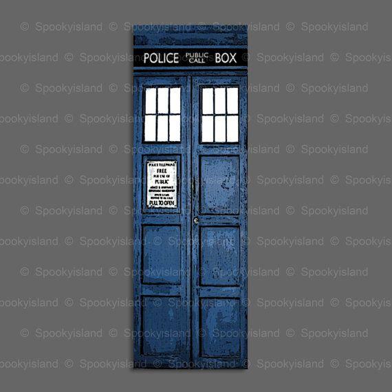 Doctor Who TARDIS bookmark BBC Dr Who fandom by Spookyisland