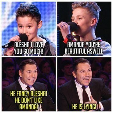 Every time I watch their first video from BGT I always laugh at this part!
