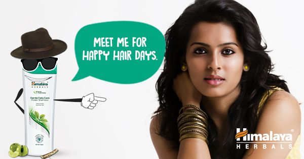 Just say #HelloHair and make everyday a happy hair day with Himalaya Gentle Daily Care Protein Shampoo.