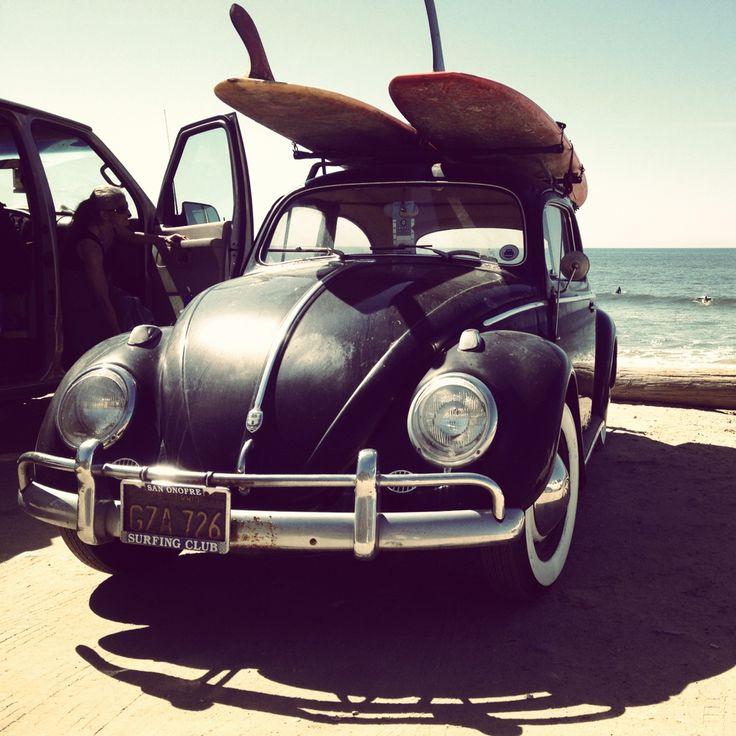 Surfer: Vwbug, Old Schools, Vw Beetles, Vw Bugs, Vintage Surfing, Surfboard, Surfing Up, Dream Cars, Old Cars