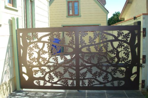 1000+ Images About Gates Driveway On Pinterest