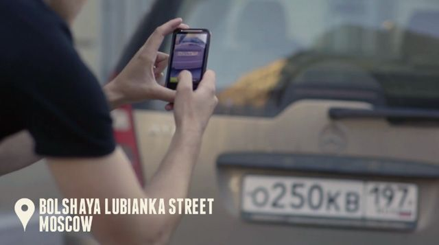 Privacy laws in Russia show no mercy for jerks. If you park in the wrong spot, if you park without giving a damn about other people this is what you get: ostracism 2.0. Russian magazine The Village has created a free app that allows to take pictures of wrongly parked cars, recognize car number plates, the car model and color. The data is streamed live to banner ads that are targeted through IP addresses to locations where these cars were parked, exposing the owners to the public shame.