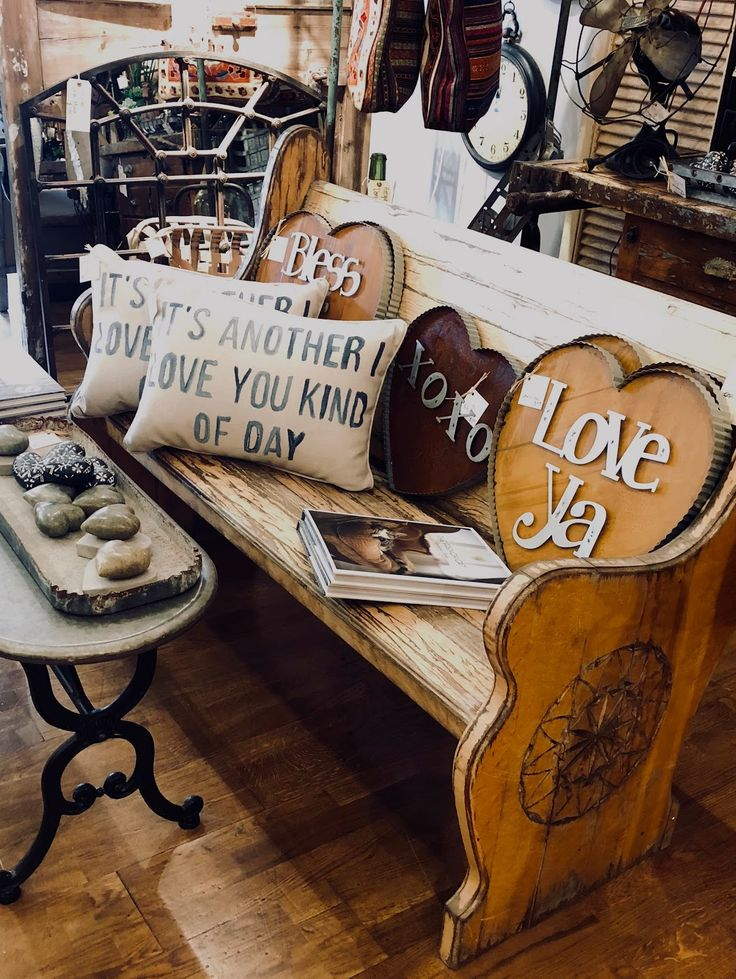 Gorgeous detail on this antique bench! Ballard & Blakely Hours: Tuesday -  Saturday 10:00 a.m. to 5:00 p.m. 5021 West Lovers Lane Dallas, Texas 75209  For ... - 52 Best Antique Furniture Images On Pinterest Antique Furniture