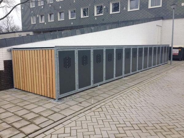 Fietskluizen Q voor appartementencomplex Hoofddorp | Falco BV
