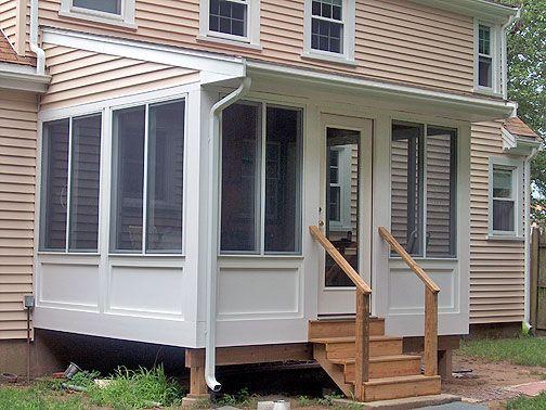 Best 25 porch enclosures ideas on pinterest porch for Mobile home enclosed porch