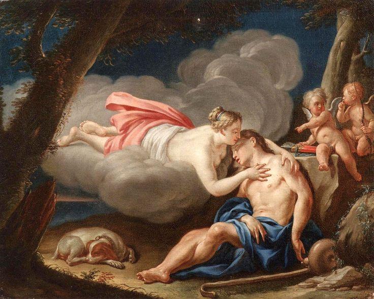 The sleep of Endymion, Noël Nicolas Coypel