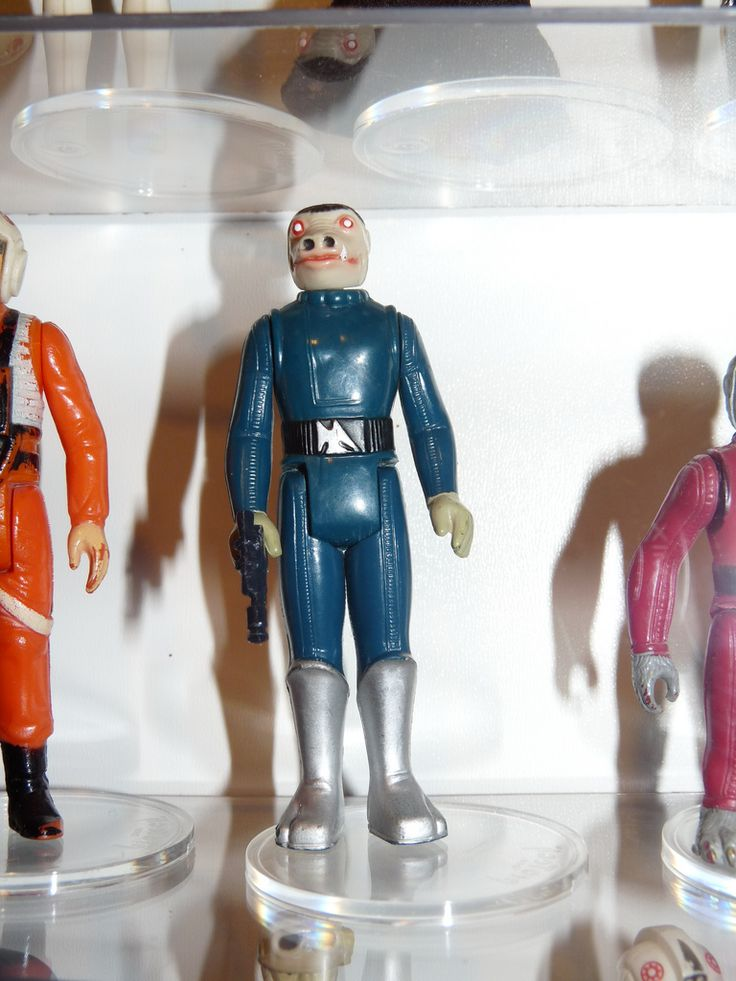 https://flic.kr/p/96qk2V   Blue Snaggletooth   Vintage rare Kenner Blue Snaggletooth from 1978.