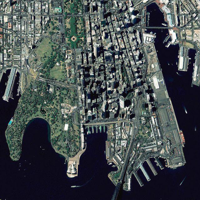 Sydney, Australia from space