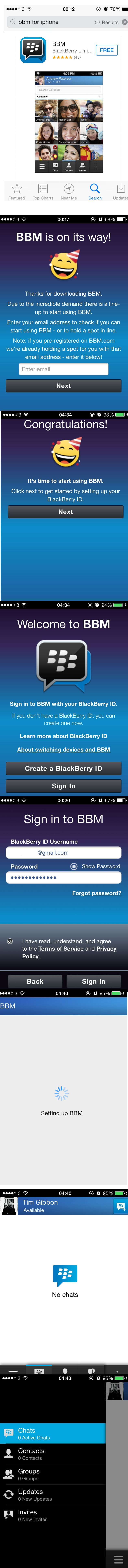 Canadian technology and telecoms company #BlackBerry has taken another shot at rolling out #BBM for #Android and the #iPhone.