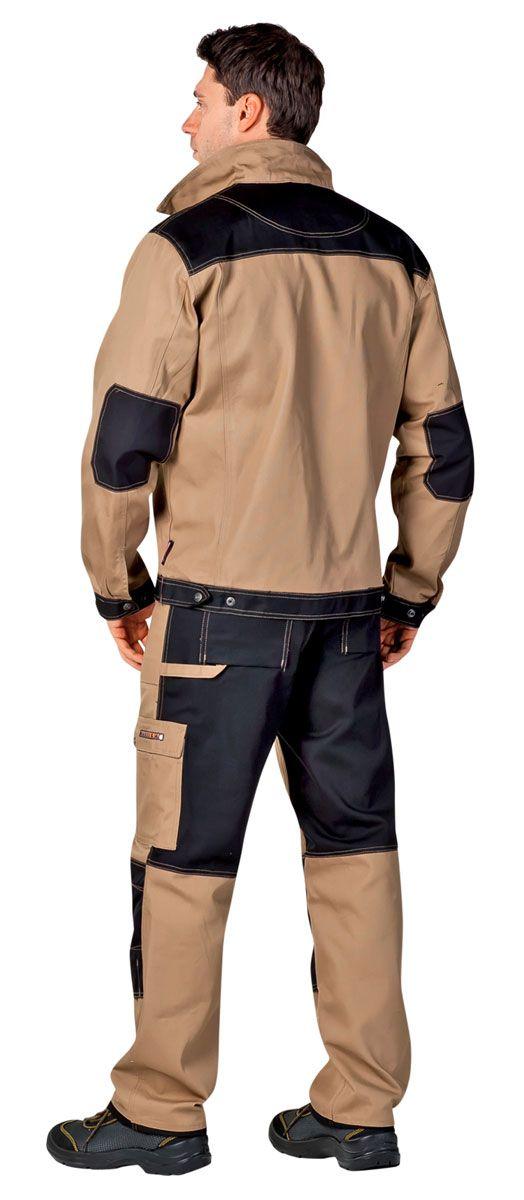 Рабочая куртка Нареллан Черва CERVA Чехия вид сзади