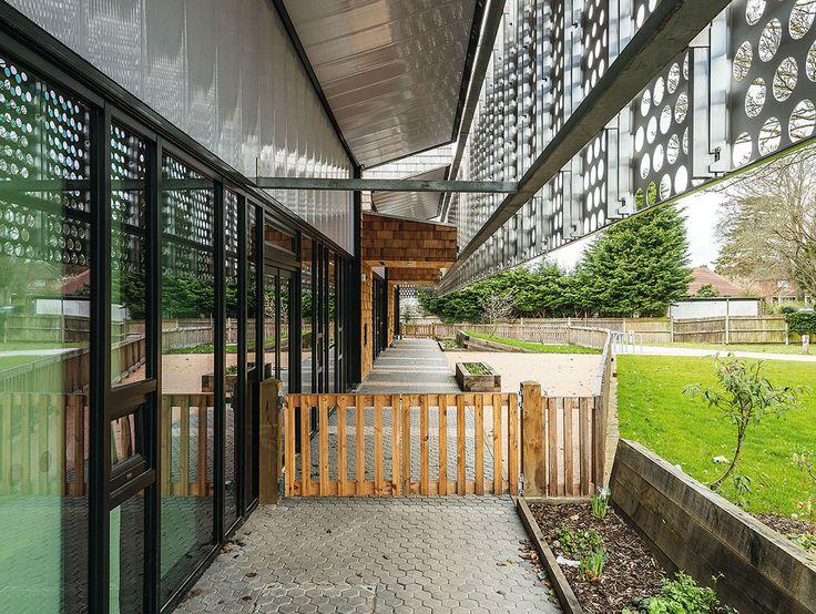 buffer between indoor + outdoor