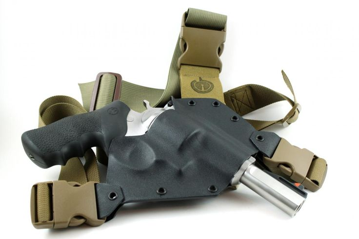 Kenai For Ruger Redhawk Chest Holster For Backpacking And