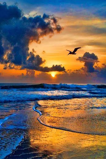 Beautiful sky, sand and water  #sky