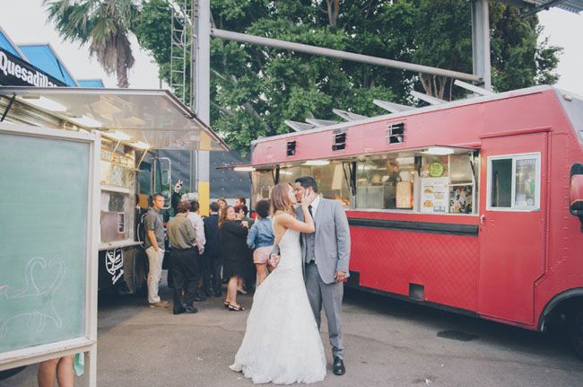 Fun wedding idea hire a food truck to come to your reception and fun wedding idea hire a food truck to come to your reception and serve aftertizers wedding party food pinterest green weddings maggie sottero and junglespirit Images