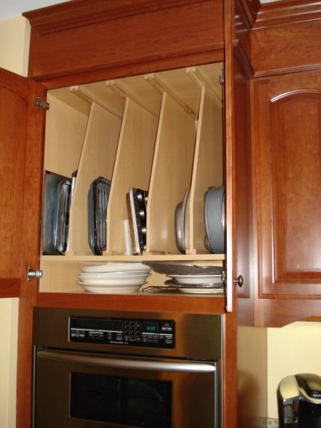9 best images about kitchen ideas on pinterest kitchen - Vertical tray dividers kitchen cabinets ...
