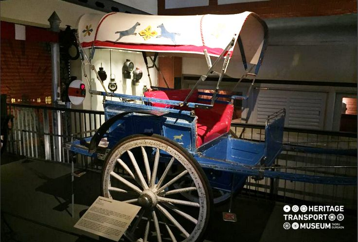 #Tonga, a horse drawn carriage displayed at the Pre Mechanized section of the #museum.