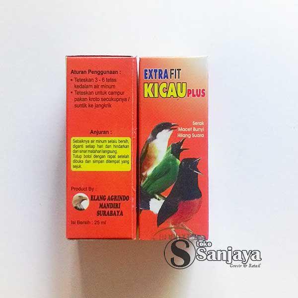 Extra Vit Kicau Plus, Mengembalikan Burung Macet
