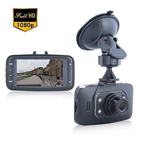 "Lecmal GS8000 Dash Cam Recorder / Night Vision DVR Motion Detection DVR Recorder / 2.7""HDMI Vehicle Camera Video Recorder camcorder Road / HD 1080P G-sensor Road Dash Cam Video - No card included"