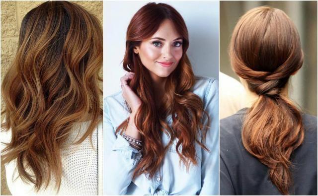 Fryzury dla włosów mahoniowych. Odważysz się?