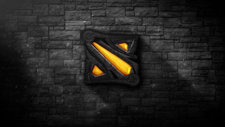 Dota 2 Logo Stone