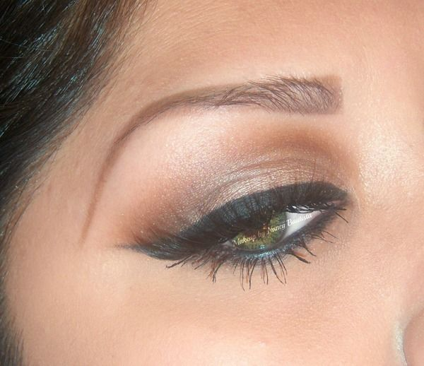 Sexy Eye Makeup for Green Eyes // Using Velour Lashes in Lash in the City. Follow @ FancyNancy23 #fancynancy23