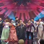 Ical dan Weni dan Peserta 10 Besar Finalis DA 3 Membuka Konser GrandFinal Jumat 27 Mei