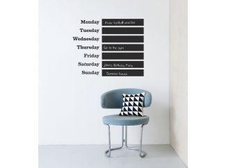 muursticker This Week... | Winkel | Gezinnig