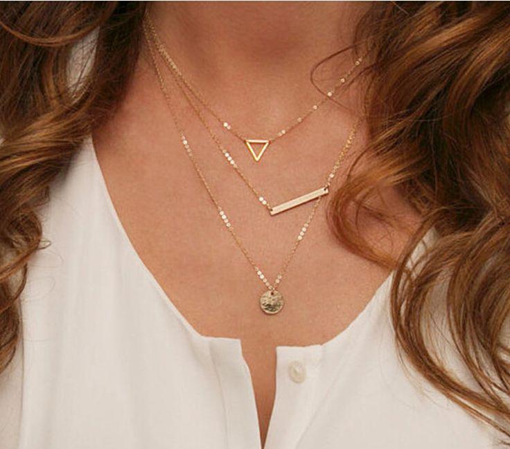 Многослойное ожерелье Купить: http://ali.pub/qcw7k