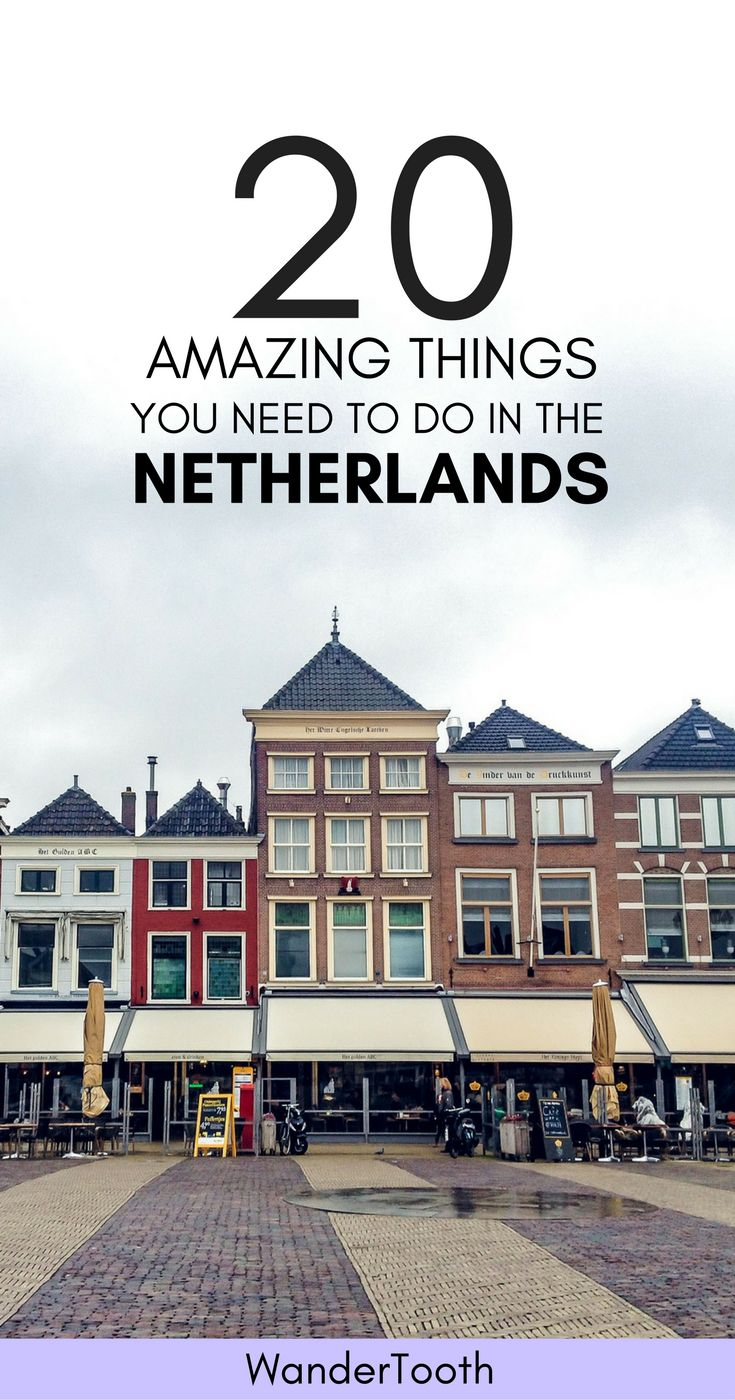 Tulips, Amsterdam and much more. The best places to visit in the Netherlands | What to do in the Netherlands | Best things to do in the Netherlands | Netherlands itinerary | Netherlands Travel Tips - via @wandertooth