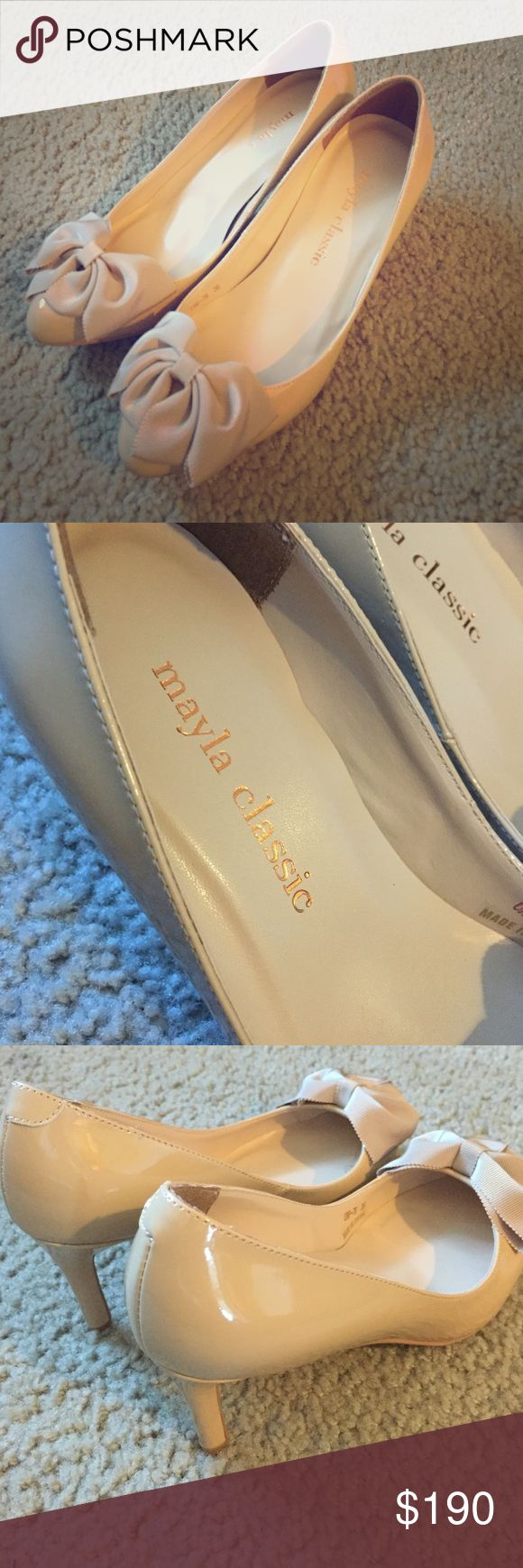 Mayla Classic brand new high heel Bought it from Japan online, Never worn before. Friendly for size 6.5. Still keep bag for the shoes. mayla classic Shoes Heels