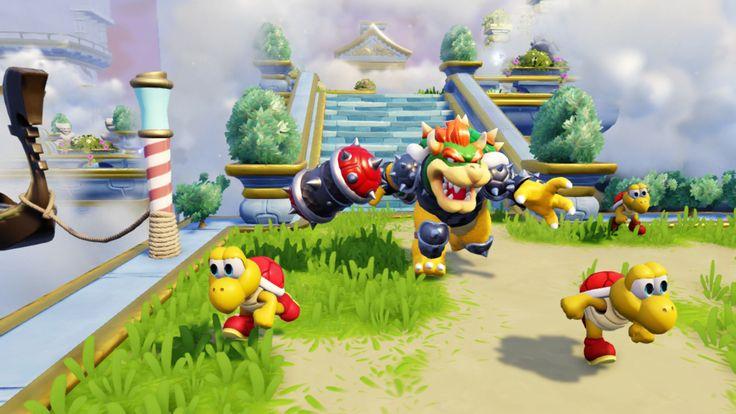 Dévoilées le mois dernier, Les figurines de Turbo Charge Donkey Kong et Hammer Slam Bowser qui seront disponibles en exclusivité dans la version Wii U et Nintendo 3DS de Skylanders SuperChargers s'animent pour la première fois ce vendredi dans ce nouveau trailer mis en ligne par Activision et que vous pourrez découvrir dans la suite de l'article.