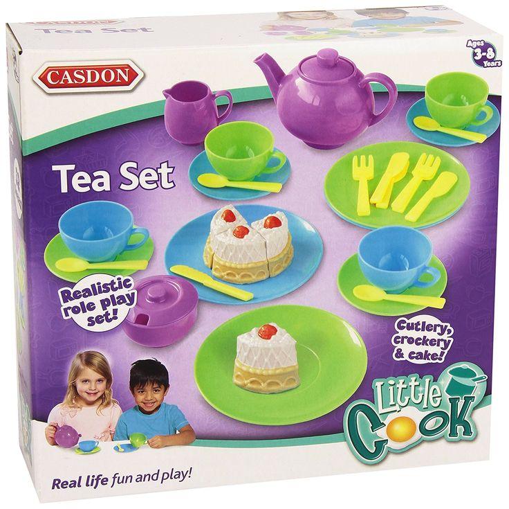 Casdon Tea Set - http://amzn.to/2ueeoZ5