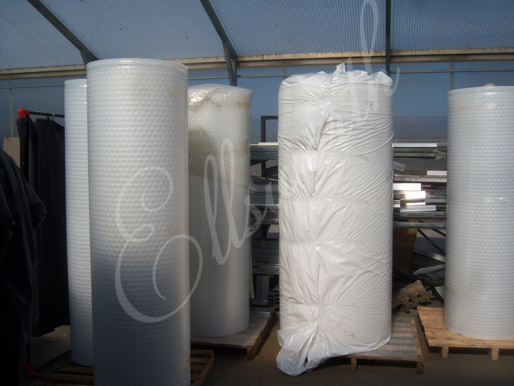 Our SolaWrap films are designed to imitate nature's natural prisms with a bubble structure that appears similar to the honeycombs that bees create. Each of the bubbles work together to permit better lighting within the greenhouse and they help diffuse the light from the sun better. The bubbles also create better insulation so that on cool days or very hot days the plants are protected from the extremes of weather. The density of the wrap protects plants from hail and other damaging weather.