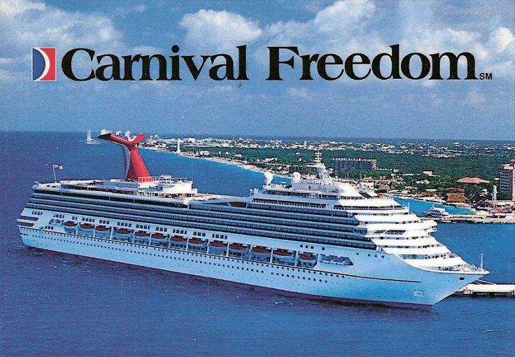 Carnival Freedom Or Reeeeaallly Any Cruise Ship
