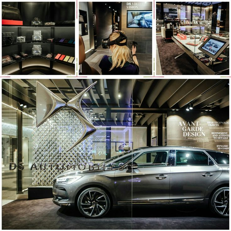 New DS Urban Store at Westfields London. Order your new DS or buy branded merchandise