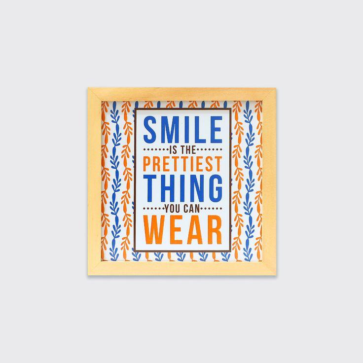 Smile Is The Prettiest Thing (MAR16-14) - Ada yang bilang kalau senyum adalah make up terbaik bagi semua orang. Dengan senyum, kamu telah berbagi kebahagiaan atau setidaknya menginspirasi orang lain untuk ikut tersenyum denganmu