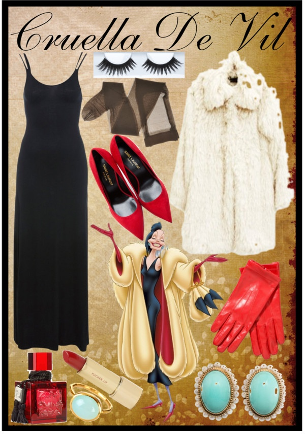 """""""~Cruella De Vil~"""" by kirsty1409 ❤ liked on Polyvore"""