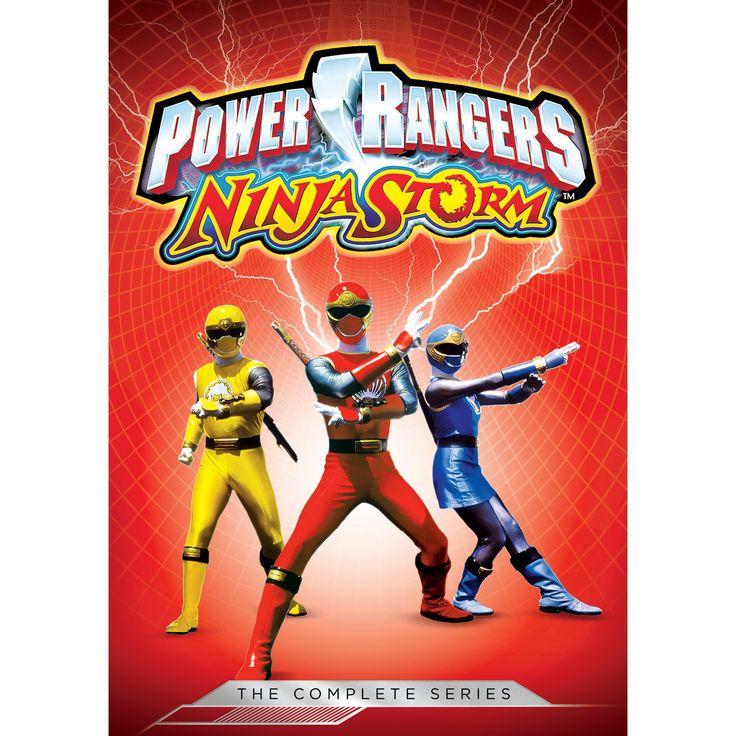 Power Rangers:Ninja Storm Complete Se (Dvd)
